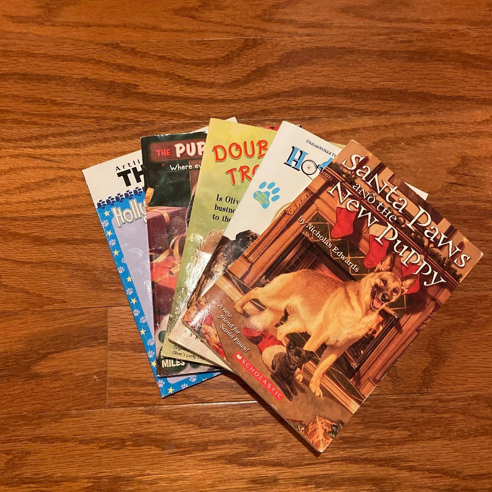 Book Bundle of 5 Children Dog Books