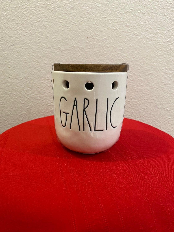 Rae Dunn Garlic Cellar