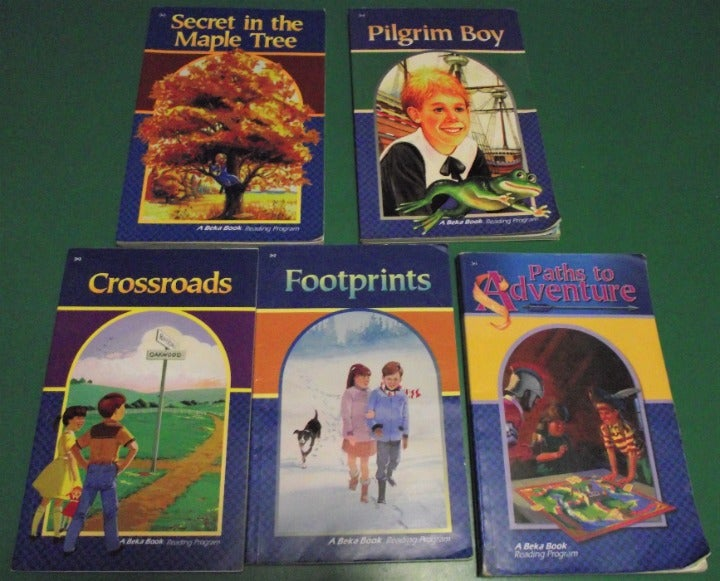 ABEKA Reading Books Lot of 5 - 3rd Grade