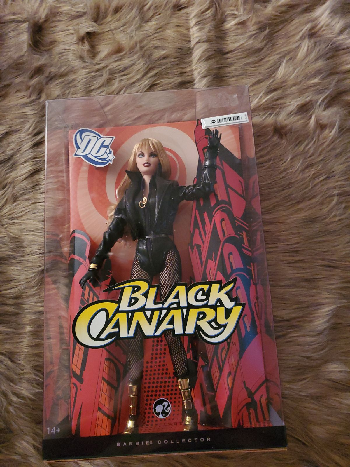 DC Black Canary Barbie Collectible