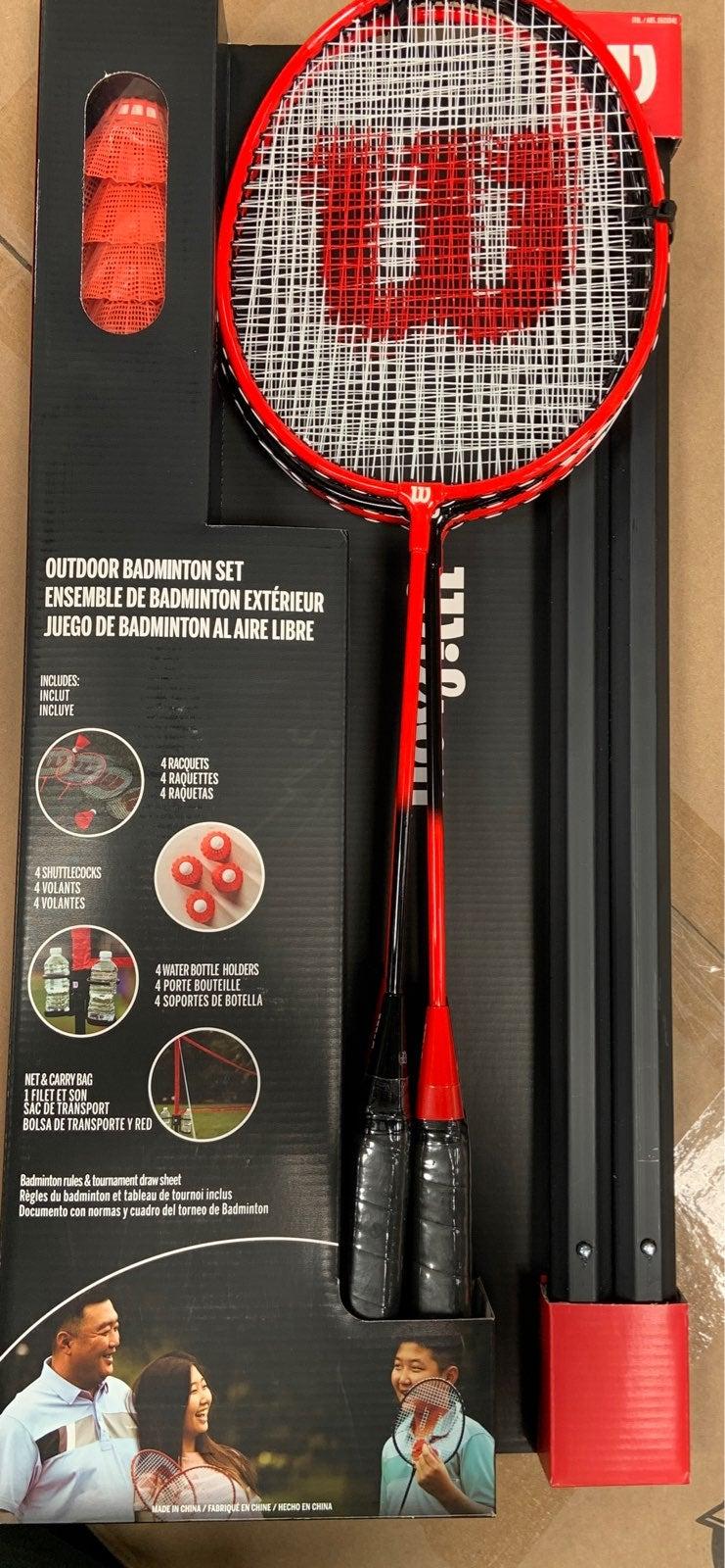 Outdoor Badminton Set By Wilson
