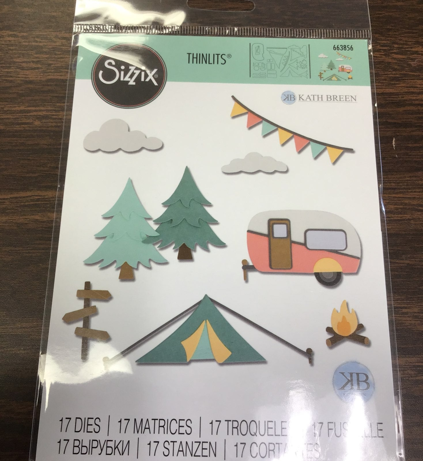 Sizzix great adventures die set