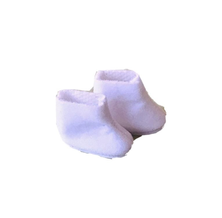 Betsy McCall Blythe Doll Boots White