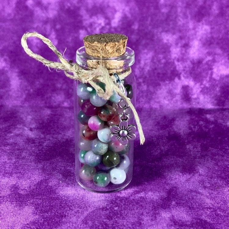 Color Quartz 6-7mm Round Beads