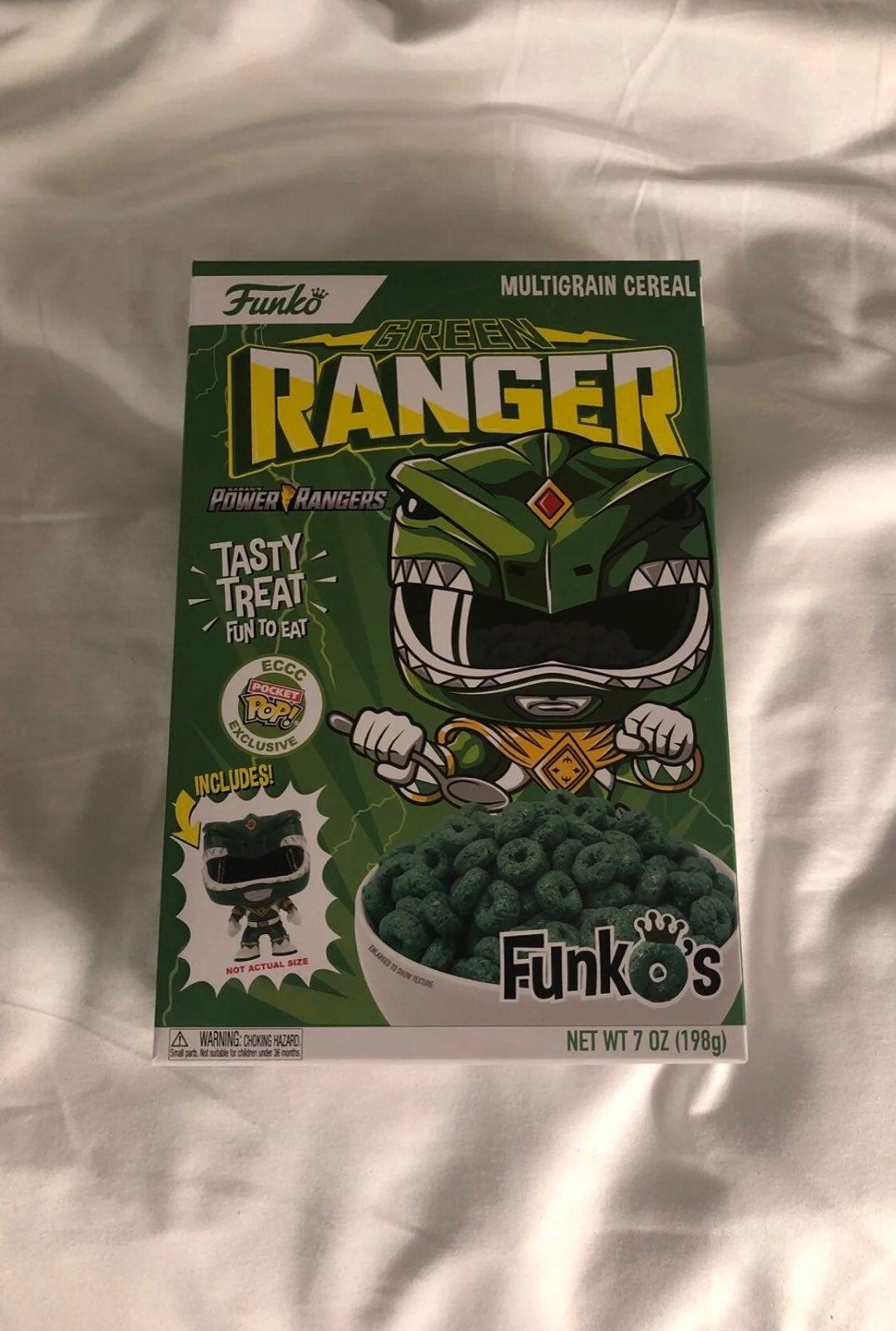 Funko Green Ranger Pop Mini Cereal