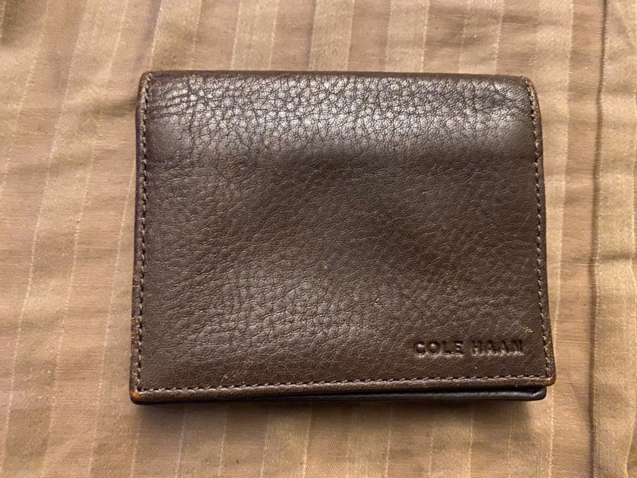 Cole Haan Mens Leather Wallet