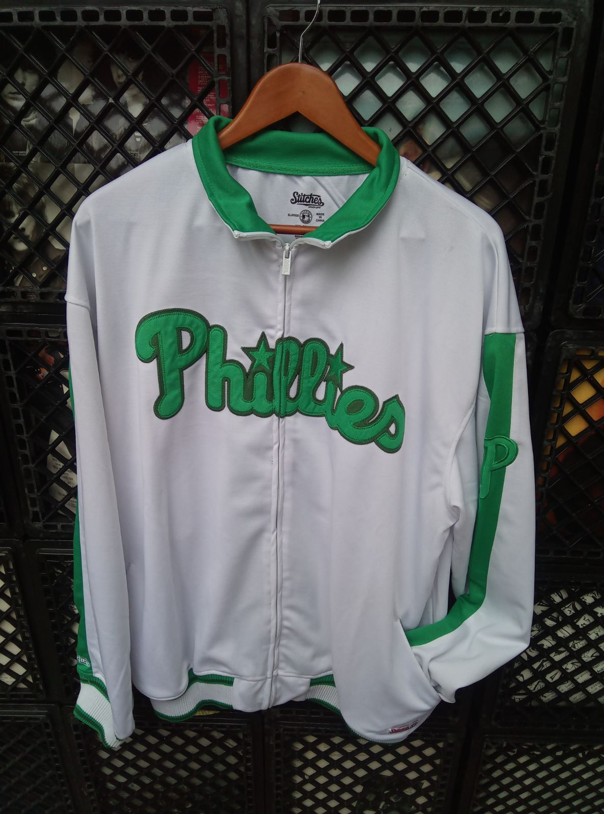 Phillies sport jacket by stitches