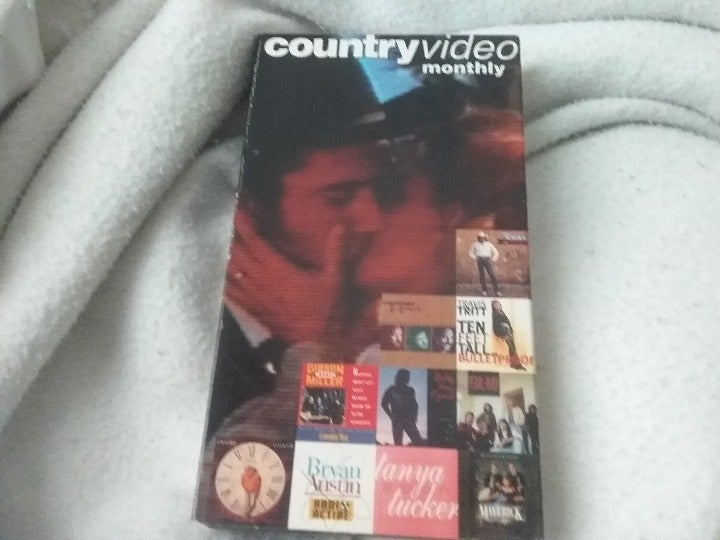 Country video monthly VHS- July 1994