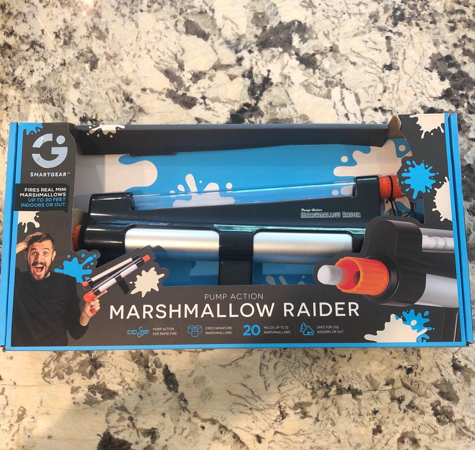 Marshmallow Raider