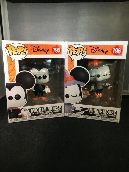 Funko Pop! Witchy Minnie Spooky Mickey
