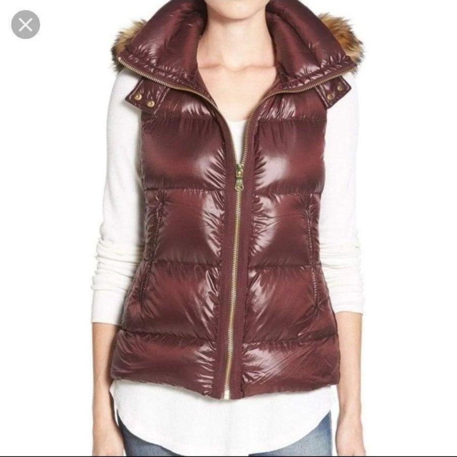 Fur Hooded Designer Vest