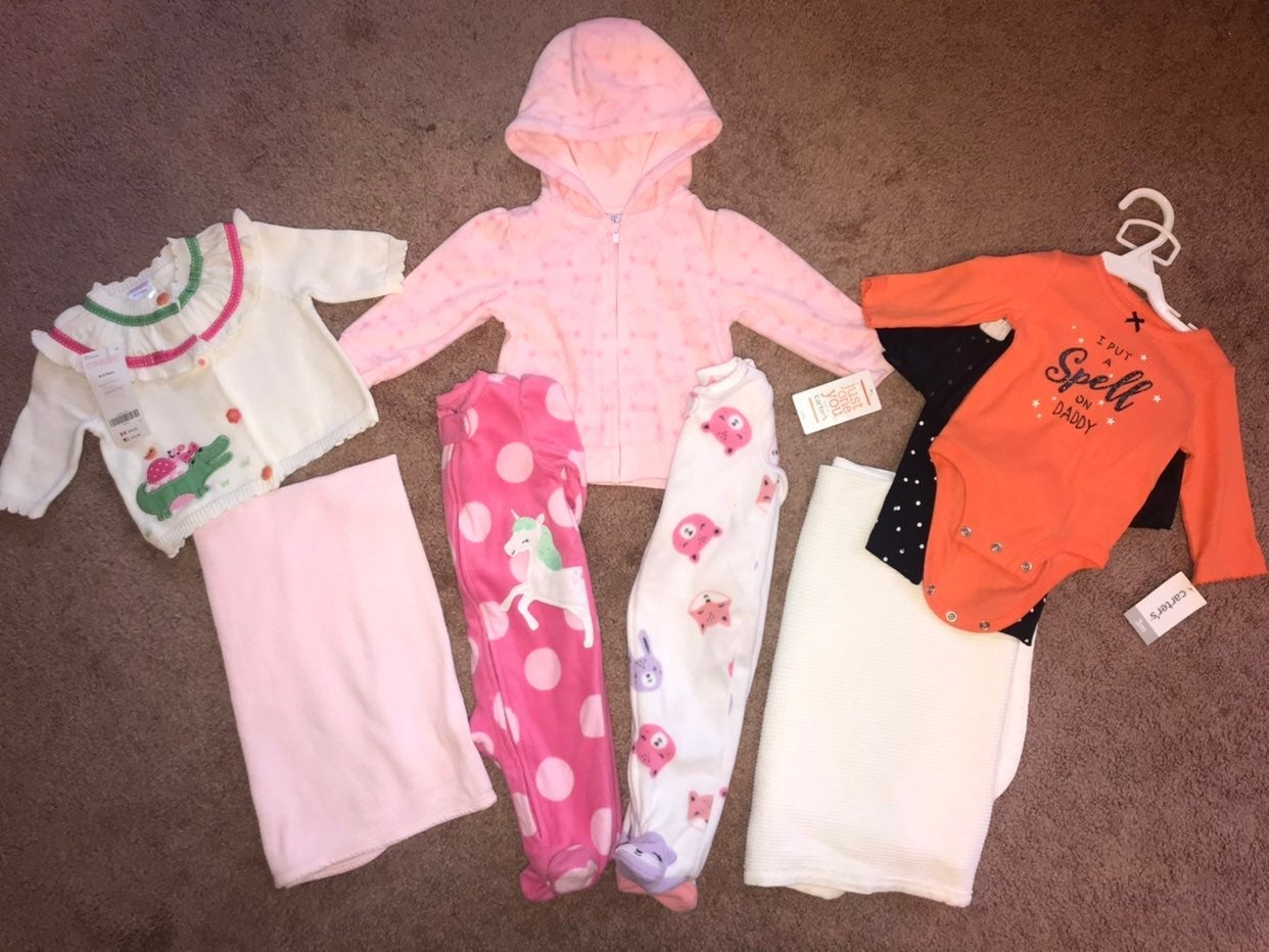 Bundle of 10 Baby Girl Items