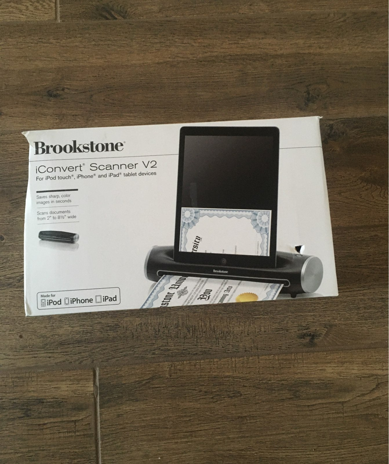 Brookstone iConvert Scanner v2