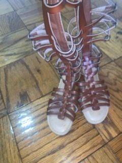Justfab gladiator sandals