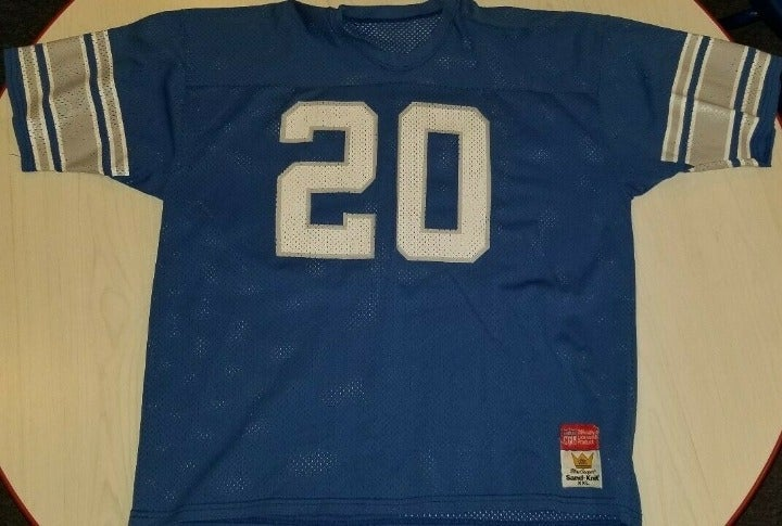 Barry Sanders Detroit Lions Jersey XXL