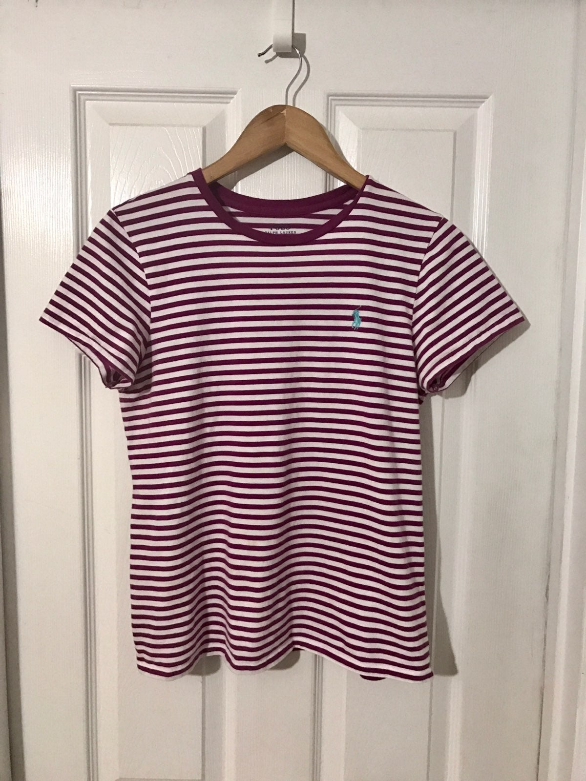 Polo Ralph Lauren Pink/white Shirt Large