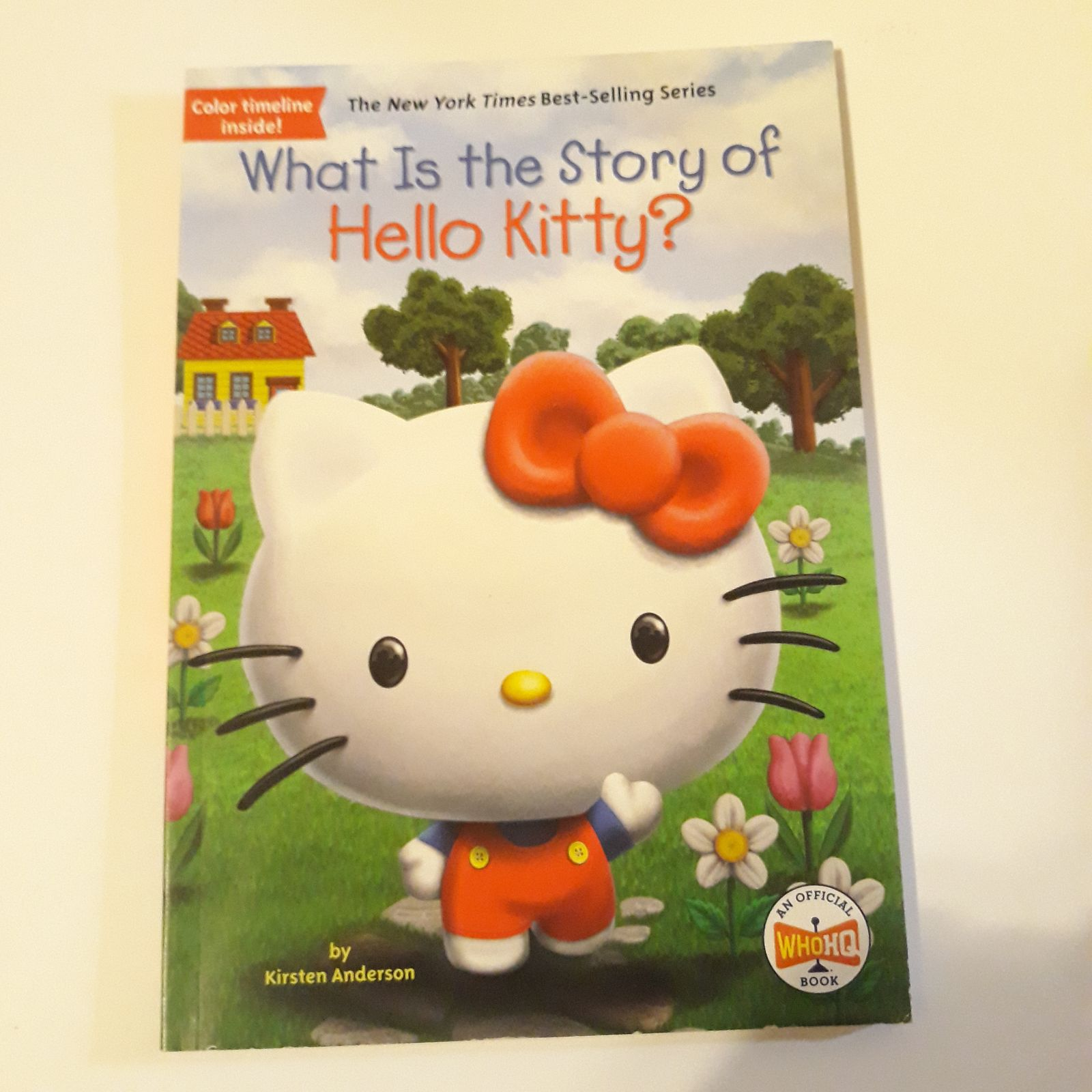 Hello kitty WhoHQ book illustrated book