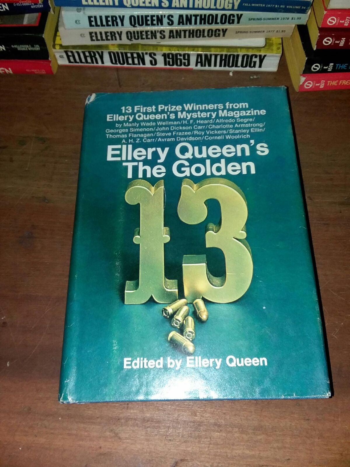 Ellery Queen's the golden thirteen