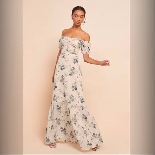 Reformation Farrow Dress  Floral B509