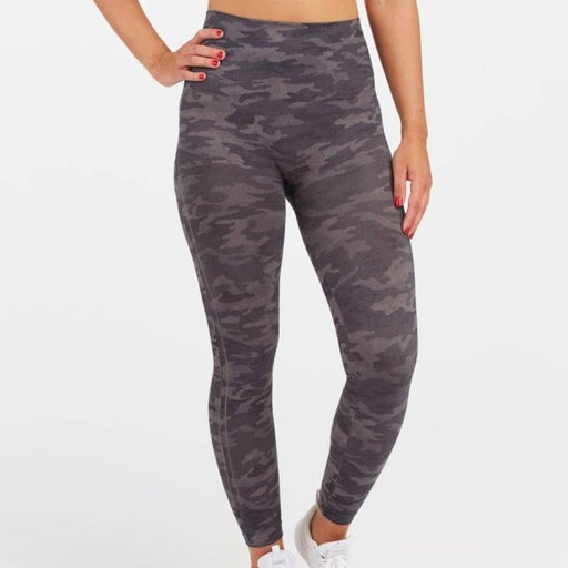 SPANX Look At Me Now Leggings Camo NWT