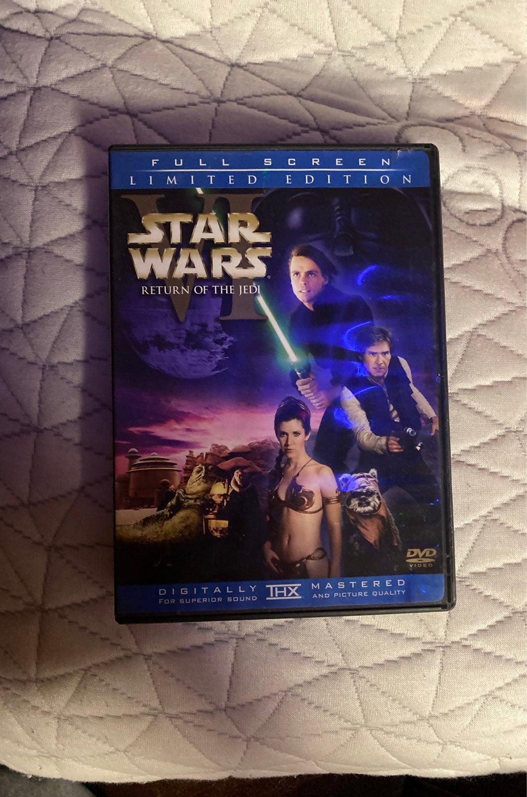 Star Wars Return of the Jedi Limited Edi