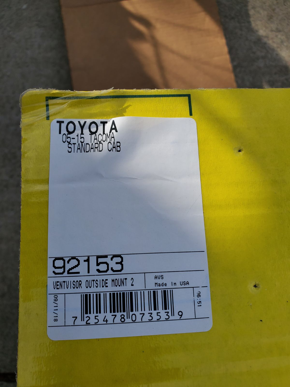 2-Piece Set for 2005-2015 Toyota Tacoma