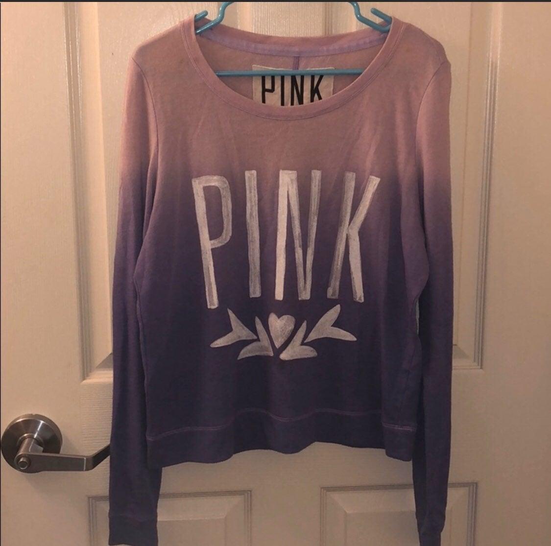 Victoria's Secret PINK Ombré Crewneck