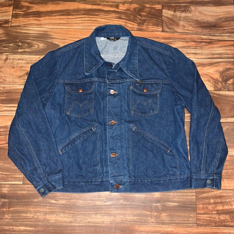 Vintage Maverick Denim Button Jean Jacke