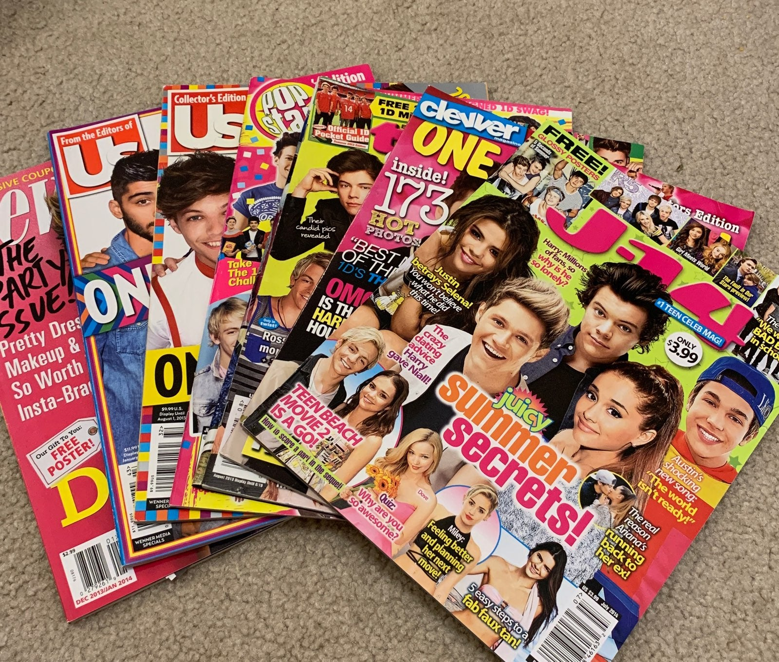 One Direction Magazines