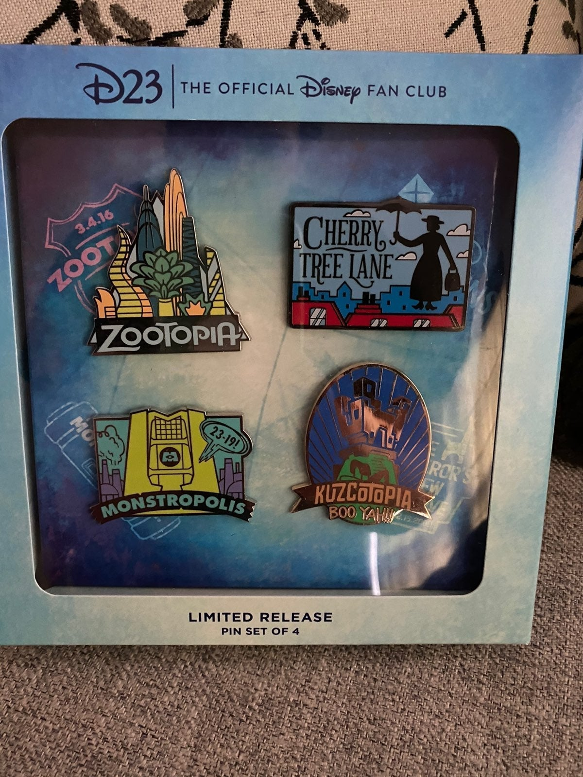 limited edition Disney pins