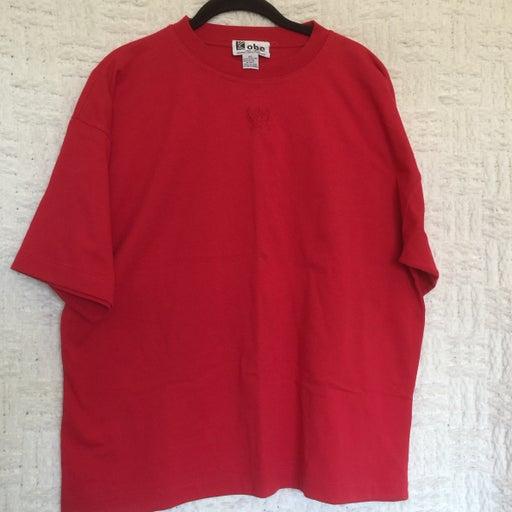 Crystal Kobe Red Tee Shirt Size L