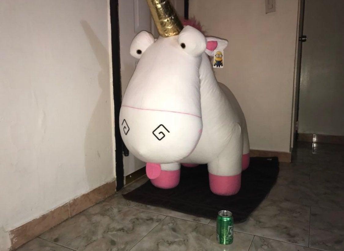 XL Despicable Me Unicorn Plush