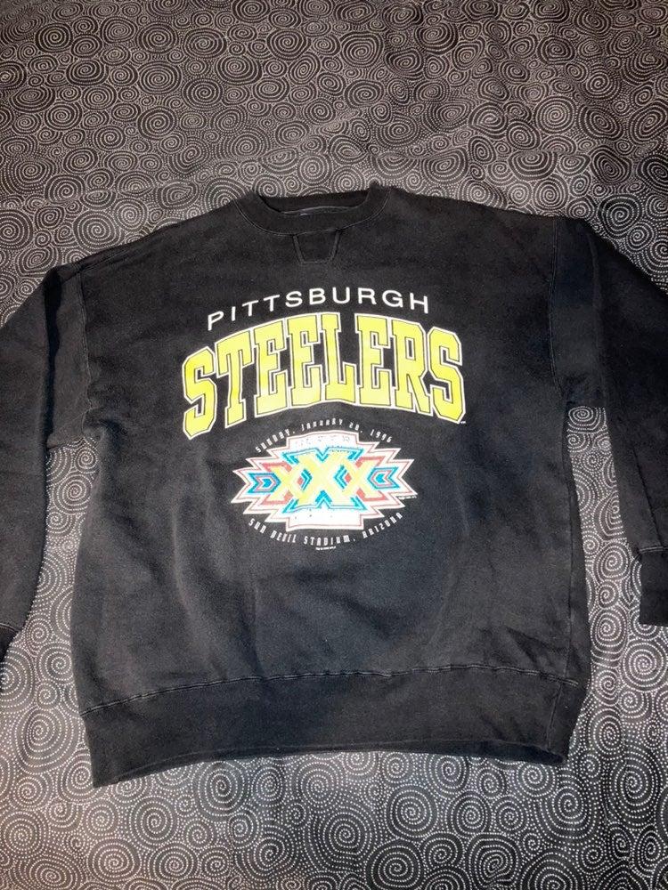 Vintage Steelers Super Bowl 30 Crewneck