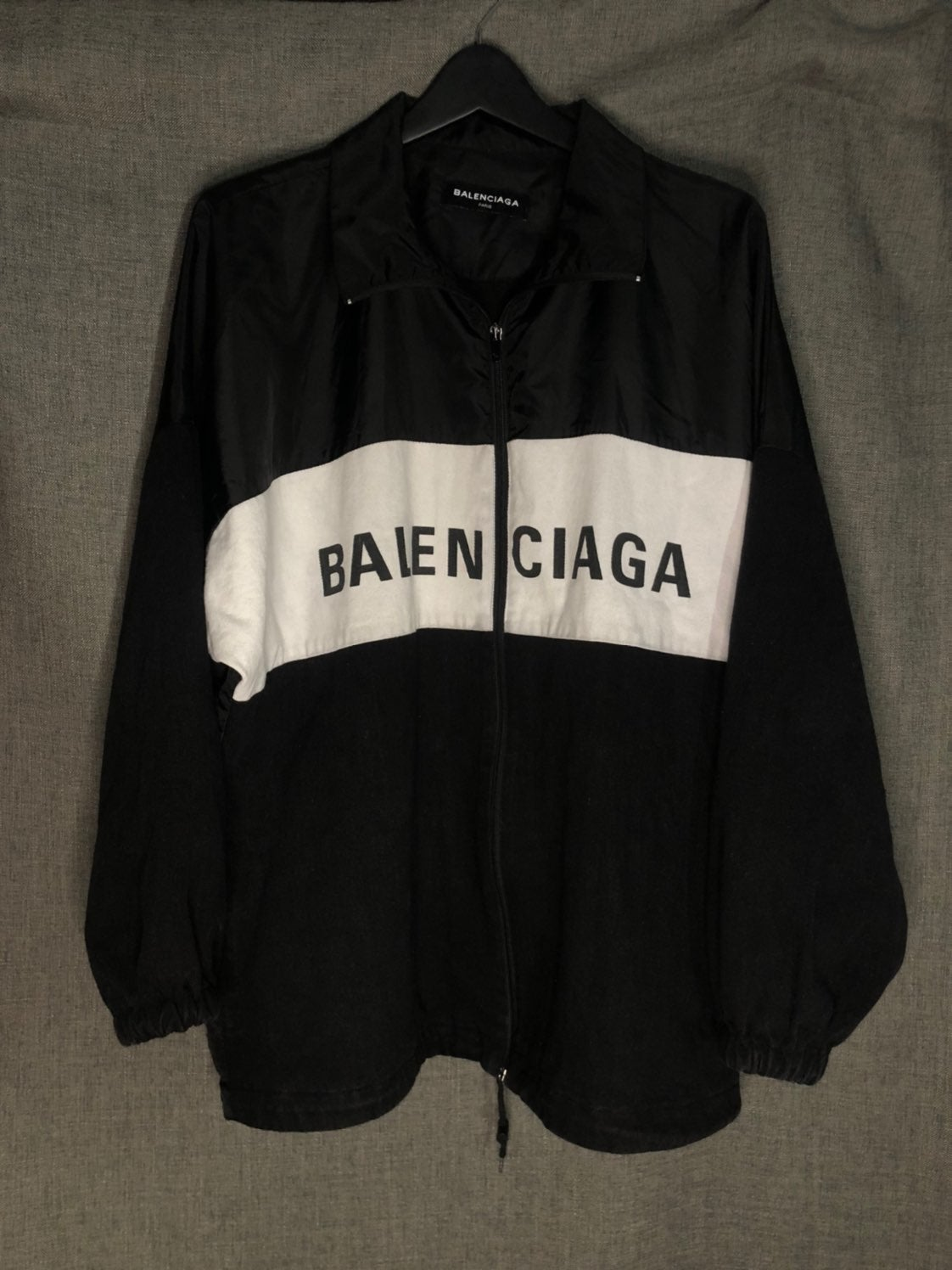 Balenciaga Denim Nylon Jacket