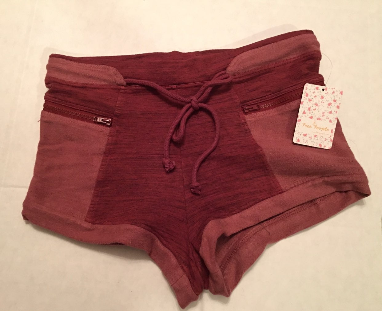 Free People Movement NWT PLUM Shorts