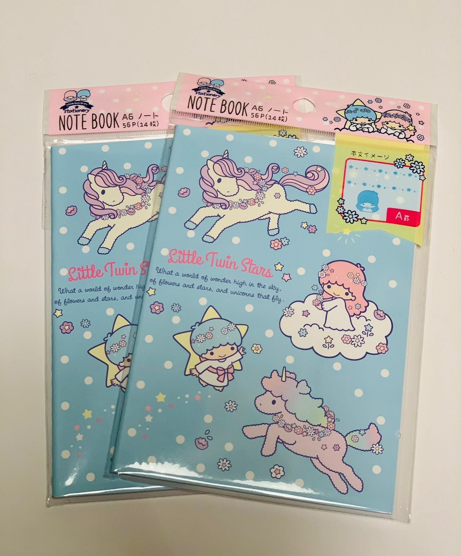 Sanrio Little Twin Stars Small Notebooks