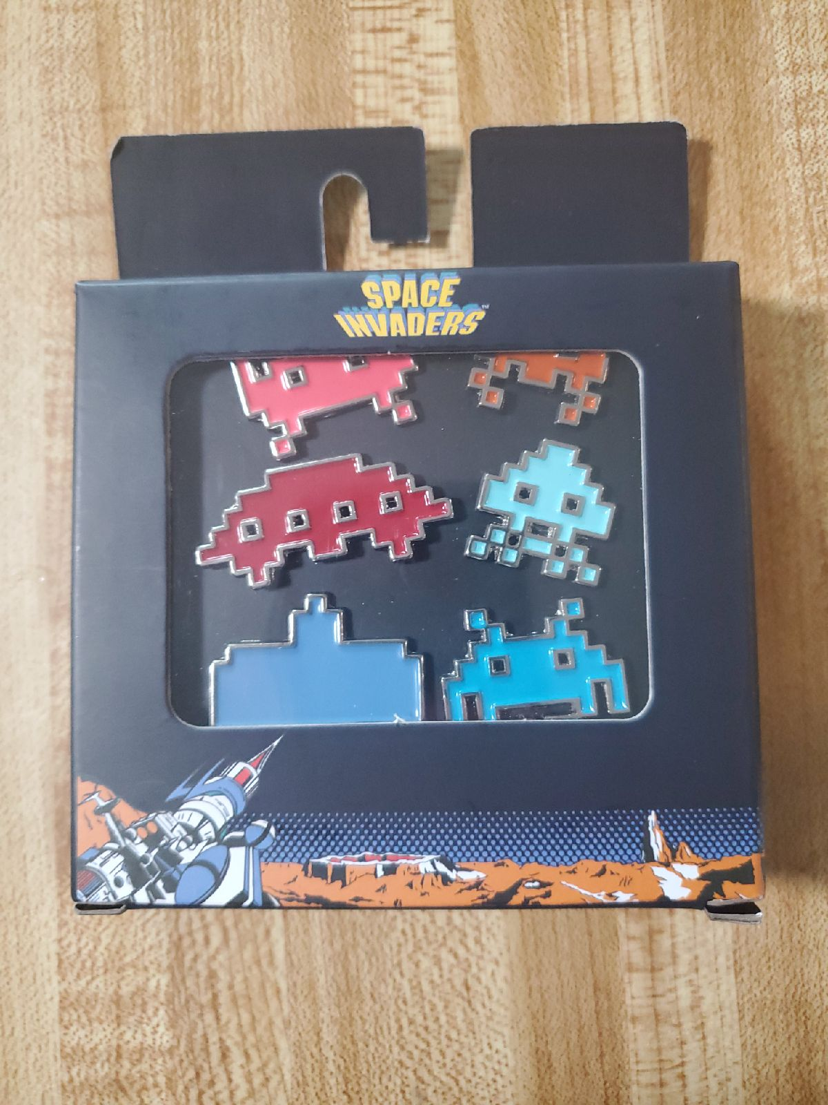 Space Invaders Pins