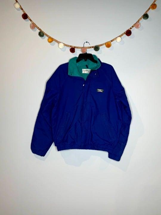 Vintage LL Bean fleece lined jacket