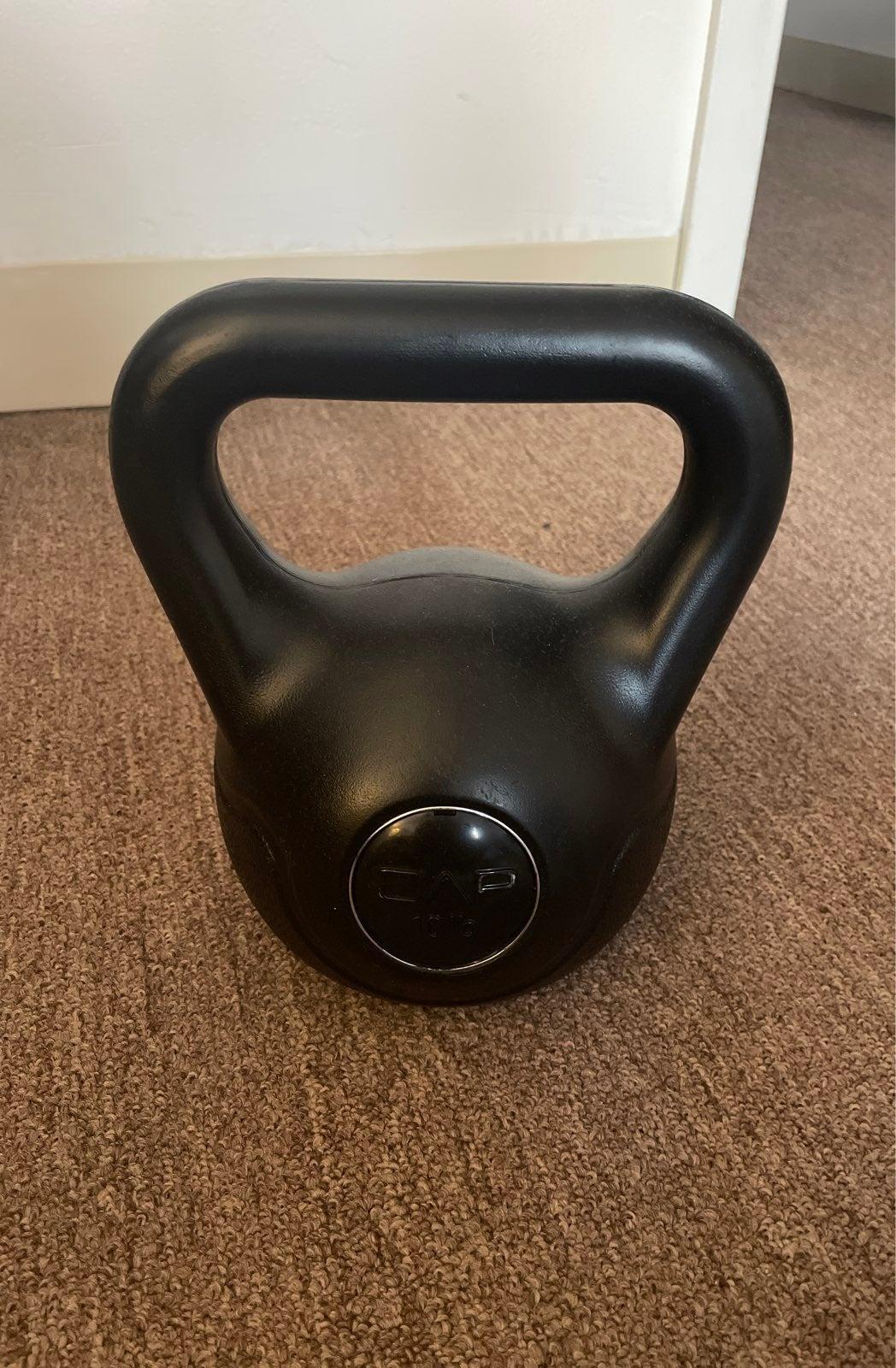 CAP 10 lb. kettlebell