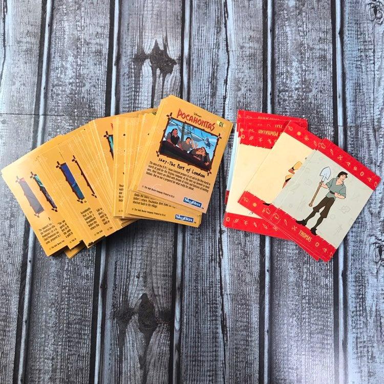 1995 Disney Pocahontas Skybox Cards