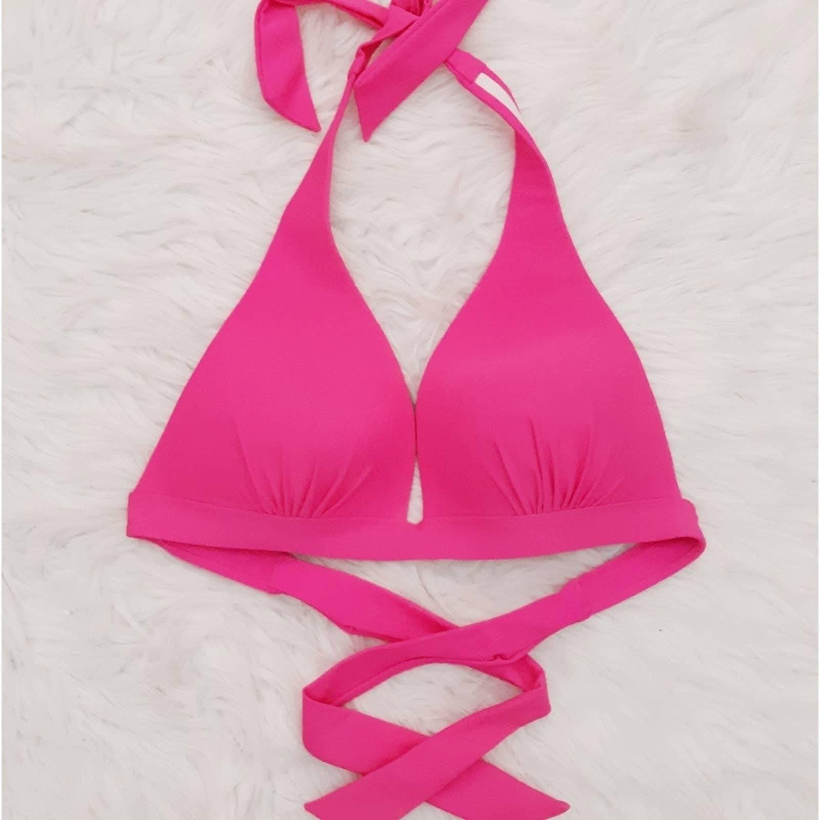 VTG Y2K Halter Bikini Top