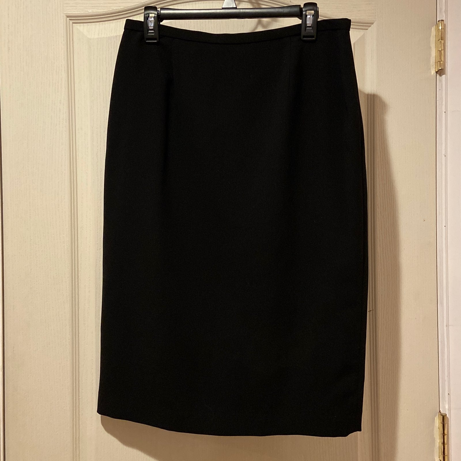 Calvin Klein Black Pencil Skirt