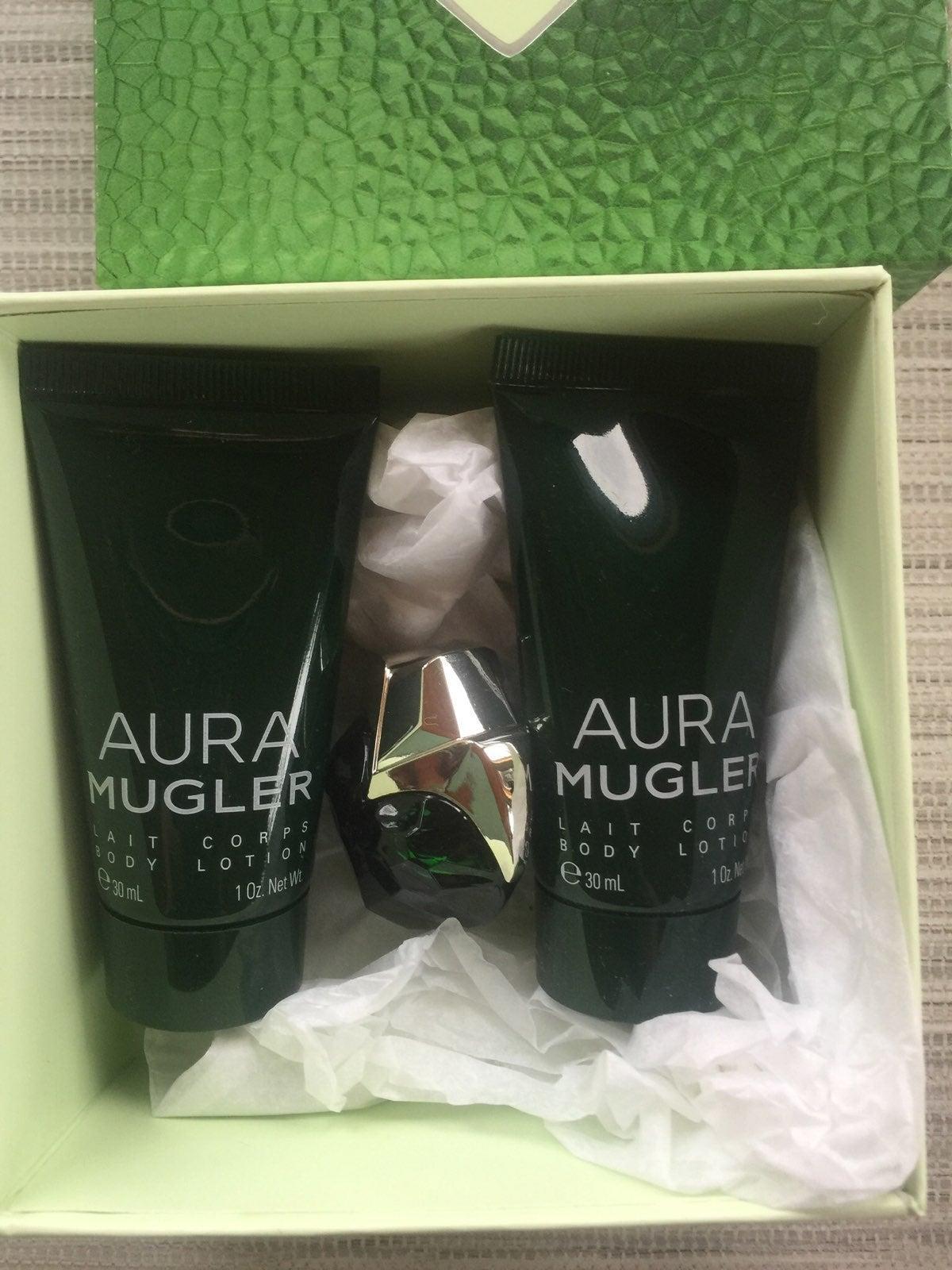 "thierry mugler ""aura"" mini collection"