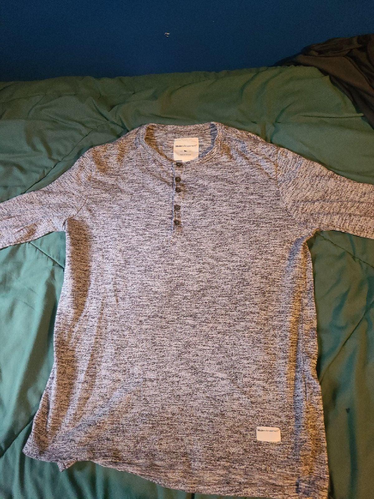 Modern Amusement buttoned sweater