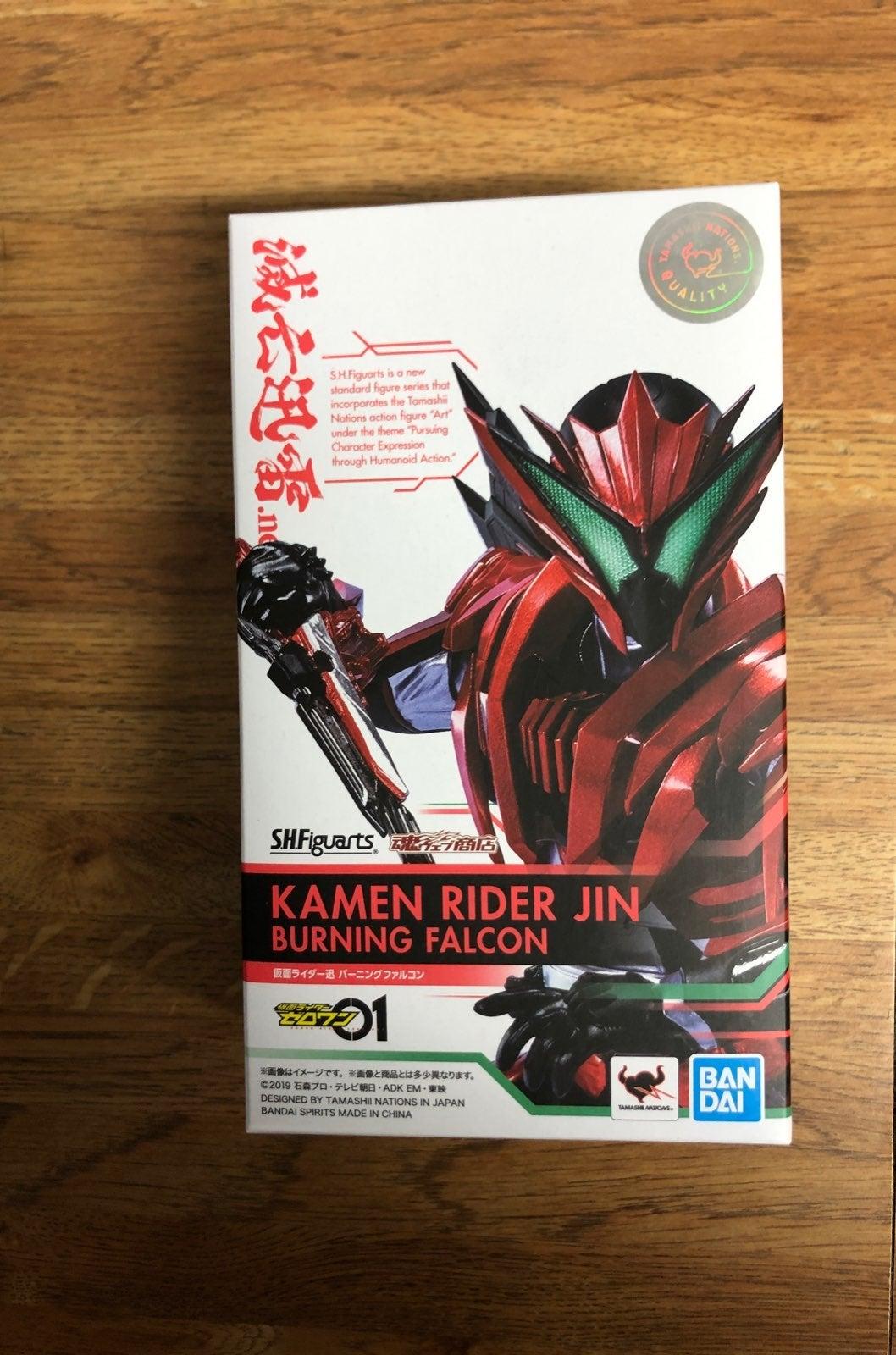 SHF kamen rider zero one Jin burning fal