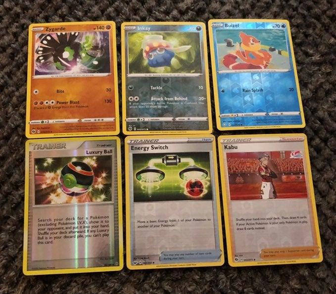 Reverse holo Pokemon Cards lot