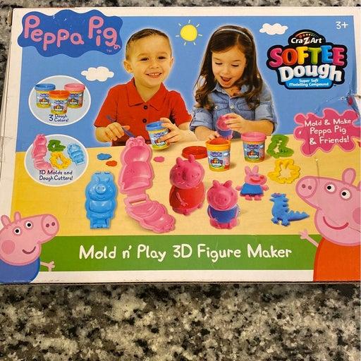 Peppa Pig mold n' play 3D figure maker