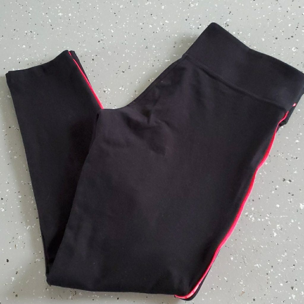 Pink Victoria Secret leggings size large