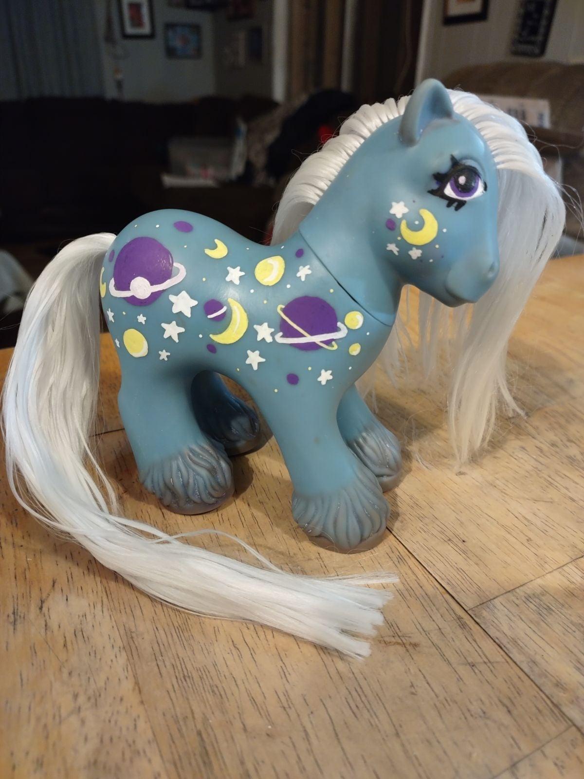Custom Daddy Nightglider My little pony