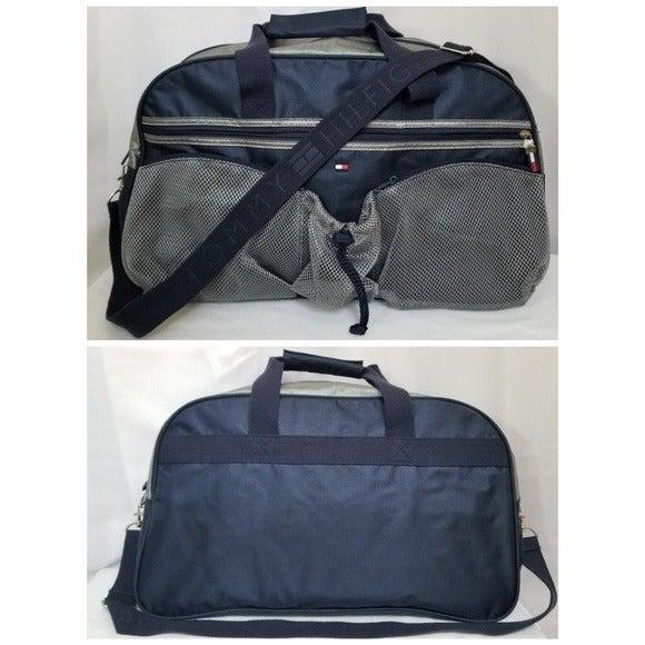 Tommy Hilfiger Duffel Bag Travel Blue